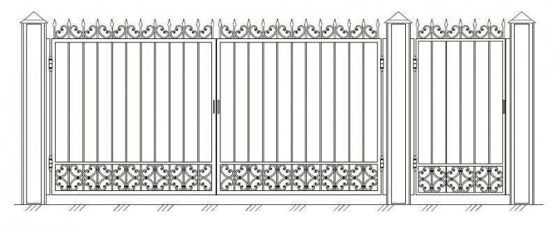 Формы ворот купить бетонний забор в житомире