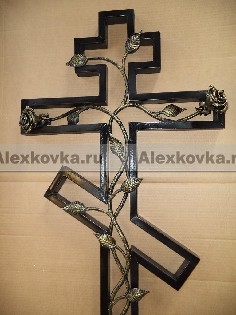 Железный крест на могилу своими руками размеры видео